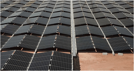 Folding Solar Panel Arrays For Huge Australian PV Project
